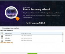 IUWEshare Photo Recovery Wizard Latest Version