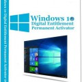 Windows 10 Digital Entitlement Permanent Activator 1.0