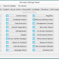 Ultimate Settings Panel Latest Version