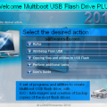 Multiboot USB Flash Driver PLUS 20.09.2016