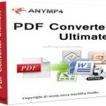 AnyMP4 PDF Converter Ultimate Latest Version