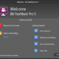 BB FlashBack Pro Latest Version
