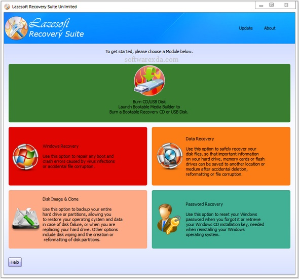 Lazesoft Recovery Suite Unlimited