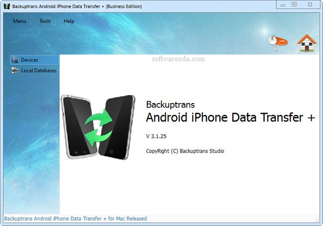backuptrans android iphone data transfer plus 3 1 28 softwarexda
