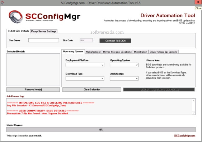 Driver Automation Tool